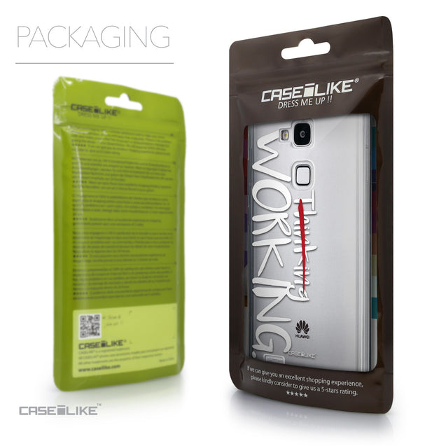 Packaging - CASEiLIKE Huawei Ascend Mate 7 back cover Quote 2411