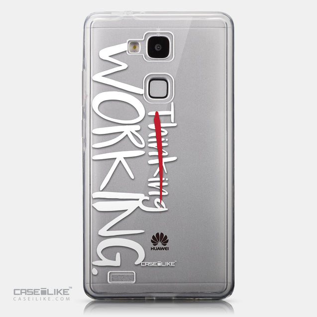 CASEiLIKE Huawei Ascend Mate 7 back cover Quote 2411