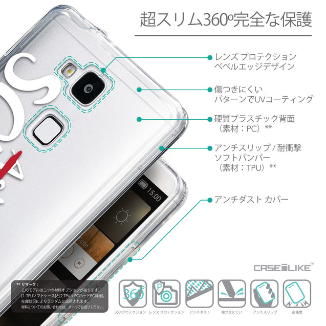 Details in Japanese - CASEiLIKE Huawei Ascend Mate 7 back cover Quote 2412