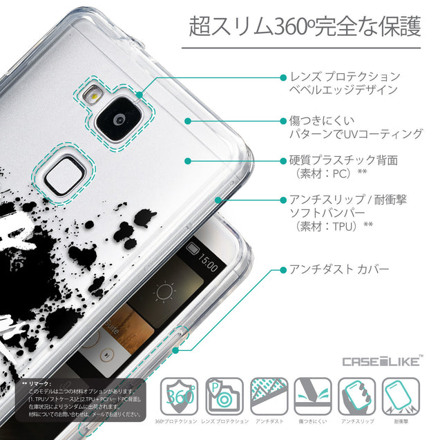 Details in Japanese - CASEiLIKE Huawei Ascend Mate 7 back cover Quote 2415