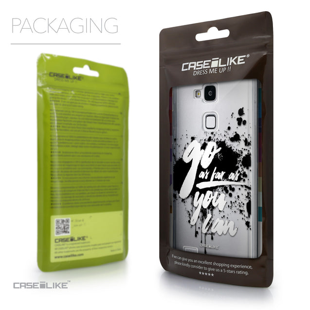 Packaging - CASEiLIKE Huawei Ascend Mate 7 back cover Quote 2415