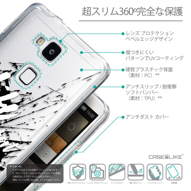 Details in Japanese - CASEiLIKE Huawei Ascend Mate 7 back cover Quote 2416