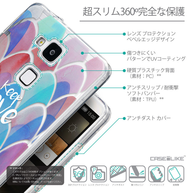 Details in Japanese - CASEiLIKE Huawei Ascend Mate 7 back cover Quote 2417