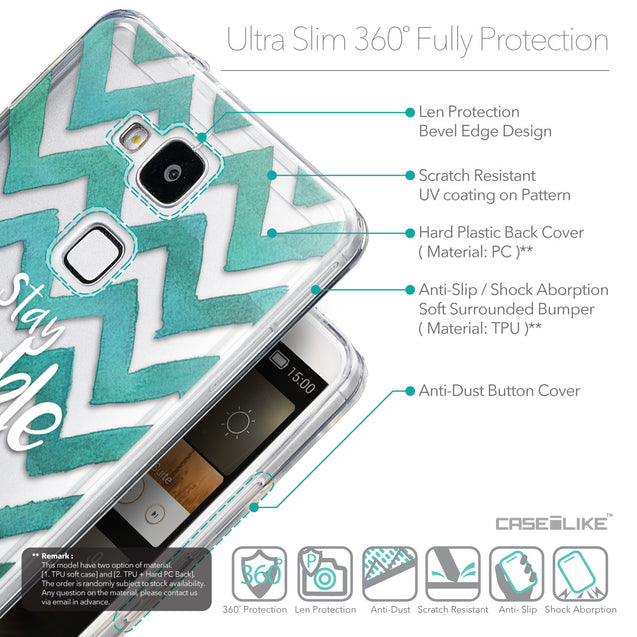 Details in English - CASEiLIKE Huawei Ascend Mate 7 back cover Quote 2418