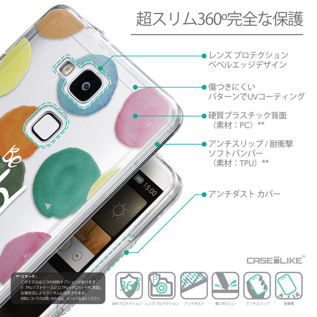 Details in Japanese - CASEiLIKE Huawei Ascend Mate 7 back cover Quote 2420