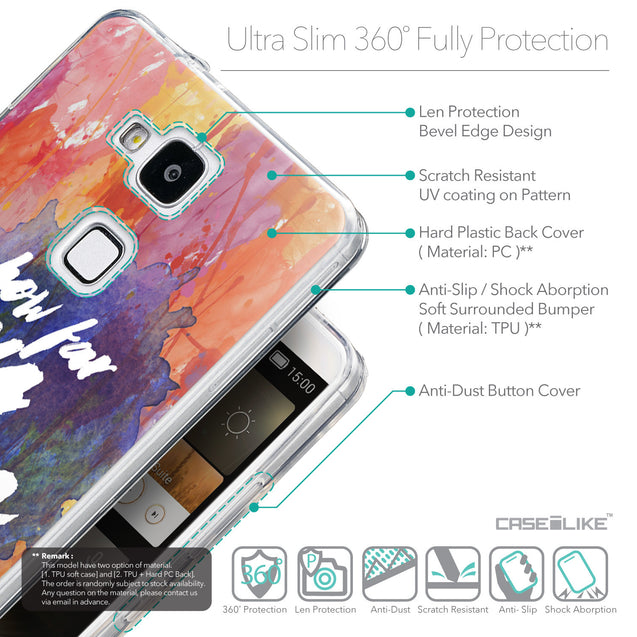Details in English - CASEiLIKE Huawei Ascend Mate 7 back cover Quote 2421
