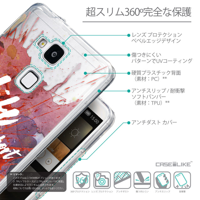 Details in Japanese - CASEiLIKE Huawei Ascend Mate 7 back cover Quote 2423