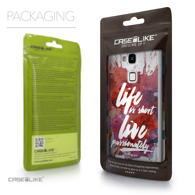 Packaging - CASEiLIKE Huawei Ascend Mate 7 back cover Quote 2423