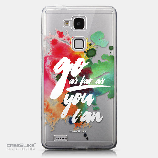 CASEiLIKE Huawei Ascend Mate 7 back cover Quote 2424