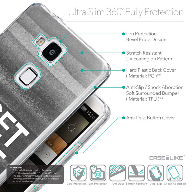 Details in English - CASEiLIKE Huawei Ascend Mate 7 back cover Quote 2429