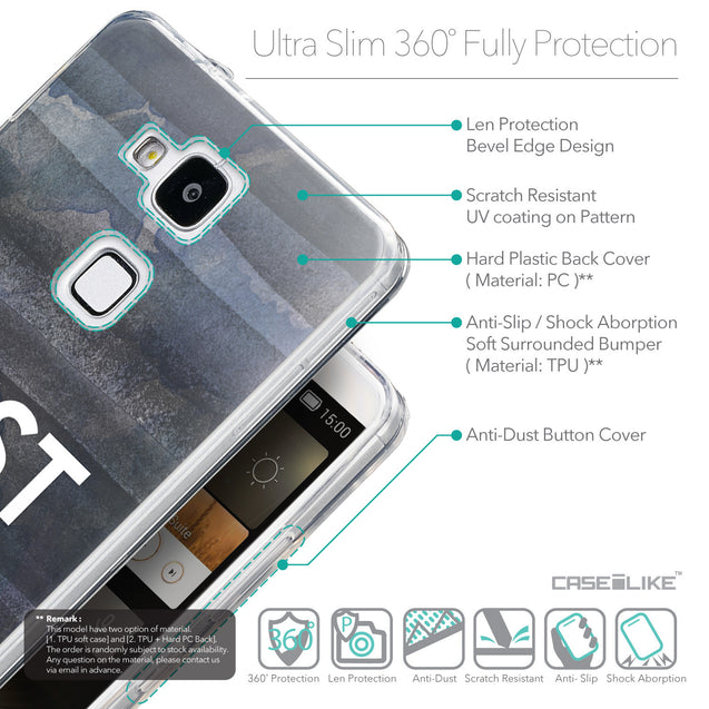 Details in English - CASEiLIKE Huawei Ascend Mate 7 back cover Quote 2430