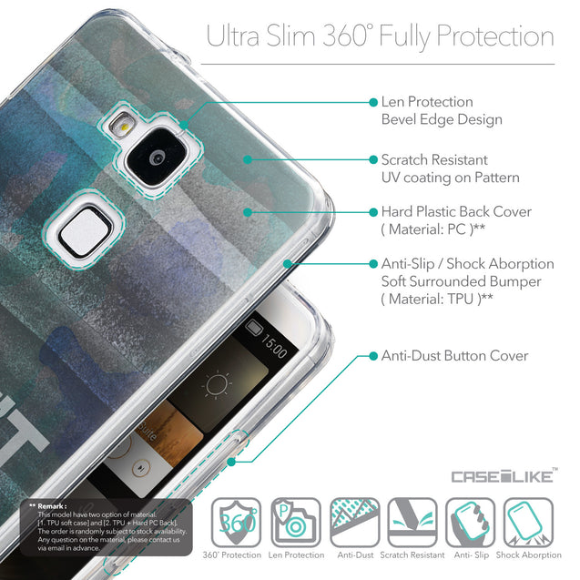 Details in English - CASEiLIKE Huawei Ascend Mate 7 back cover Quote 2431