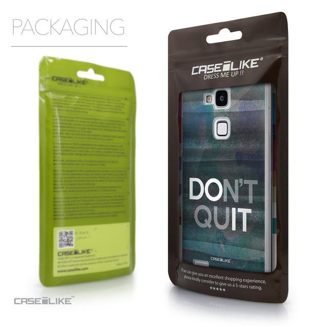Packaging - CASEiLIKE Huawei Ascend Mate 7 back cover Quote 2431