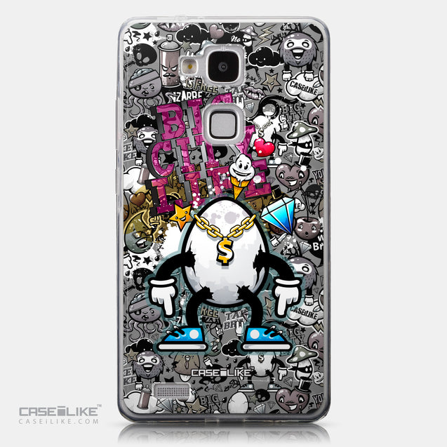 CASEiLIKE Huawei Ascend Mate 7 back cover Graffiti 2704