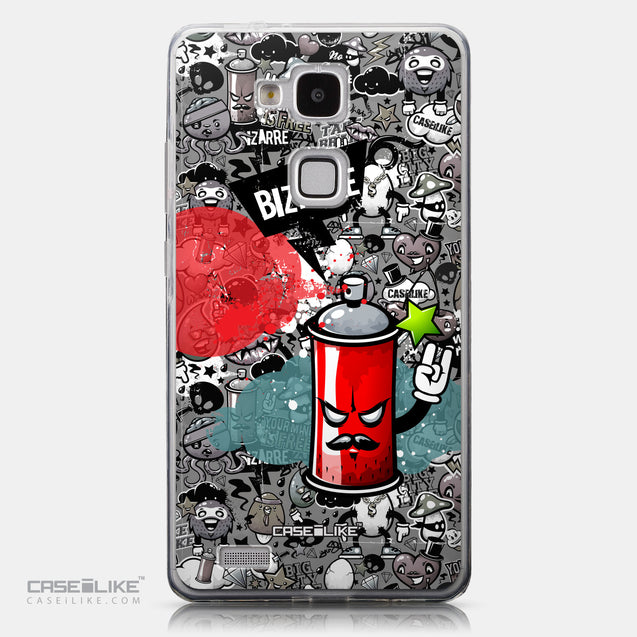 CASEiLIKE Huawei Ascend Mate 7 back cover Graffiti 2705