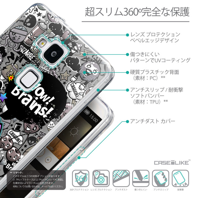 Details in Japanese - CASEiLIKE Huawei Ascend Mate 7 back cover Graffiti 2707