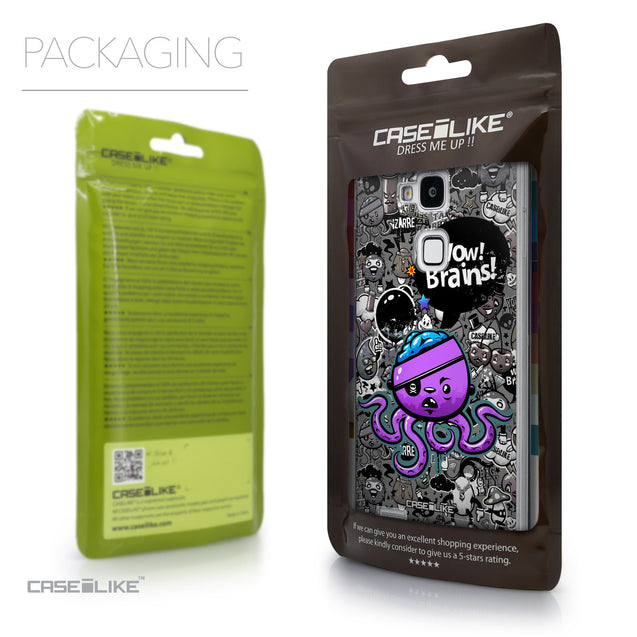 Packaging - CASEiLIKE Huawei Ascend Mate 7 back cover Graffiti 2707