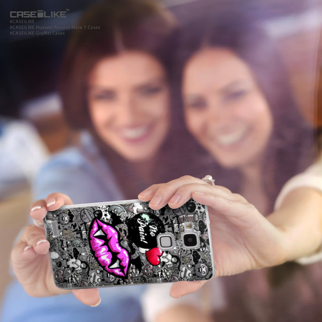 Share - CASEiLIKE Huawei Ascend Mate 7 back cover Graffiti 2708