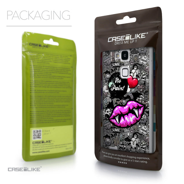 Packaging - CASEiLIKE Huawei Ascend Mate 7 back cover Graffiti 2708