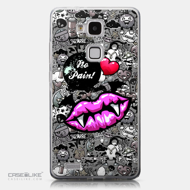 CASEiLIKE Huawei Ascend Mate 7 back cover Graffiti 2708