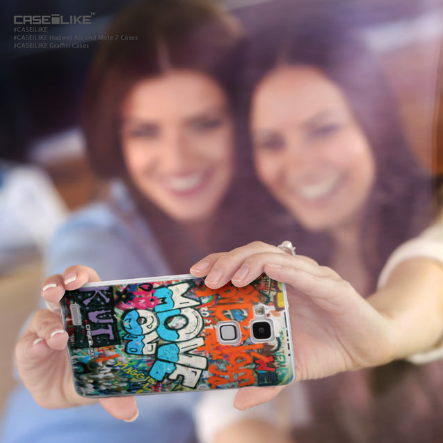 Share - CASEiLIKE Huawei Ascend Mate 7 back cover Graffiti 2722