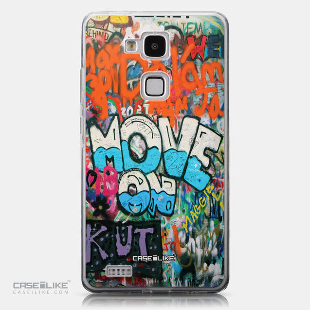 CASEiLIKE Huawei Ascend Mate 7 back cover Graffiti 2722
