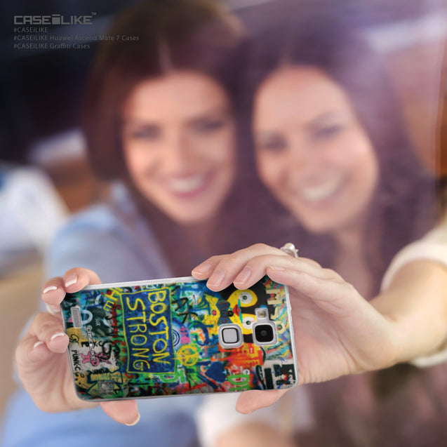 Share - CASEiLIKE Huawei Ascend Mate 7 back cover Graffiti 2723