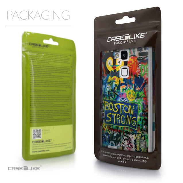 Packaging - CASEiLIKE Huawei Ascend Mate 7 back cover Graffiti 2723