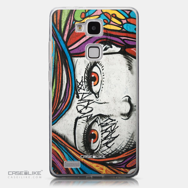 CASEiLIKE Huawei Ascend Mate 7 back cover Graffiti Girl 2725