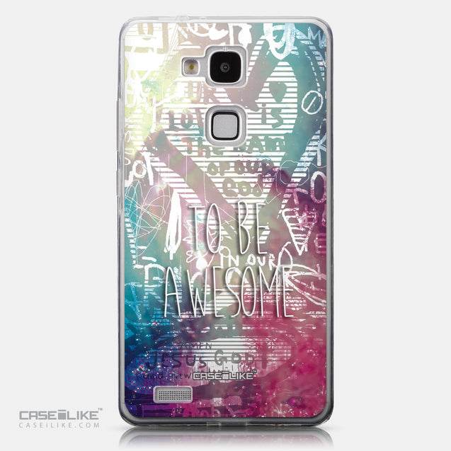 CASEiLIKE Huawei Ascend Mate 7 back cover Graffiti 2726