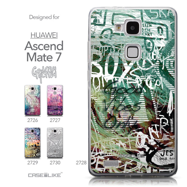 Collection - CASEiLIKE Huawei Ascend Mate 7 back cover Graffiti 2728