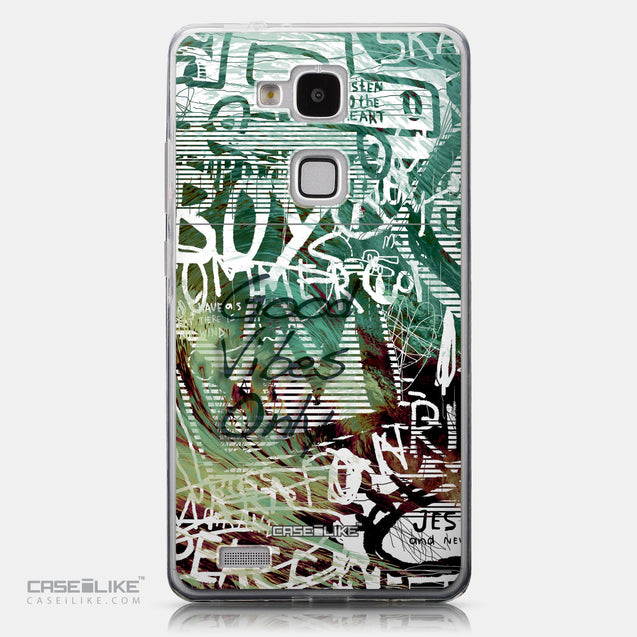 CASEiLIKE Huawei Ascend Mate 7 back cover Graffiti 2728