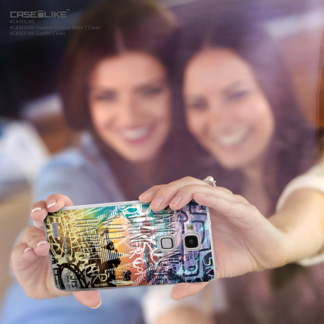 Share - CASEiLIKE Huawei Ascend Mate 7 back cover Graffiti 2729