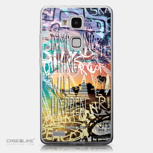 CASEiLIKE Huawei Ascend Mate 7 back cover Graffiti 2729