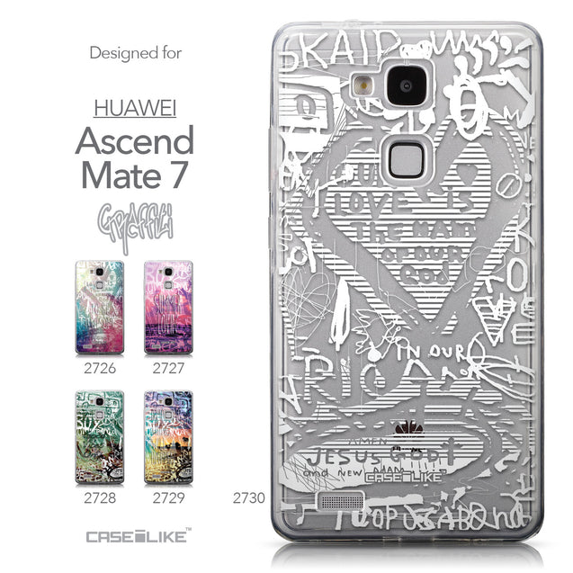Collection - CASEiLIKE Huawei Ascend Mate 7 back cover Graffiti 2730