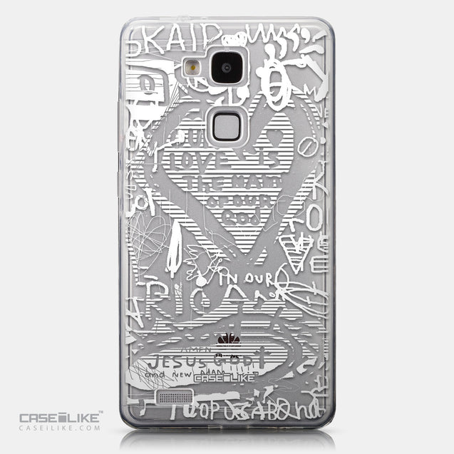 CASEiLIKE Huawei Ascend Mate 7 back cover Graffiti 2730