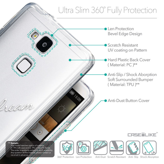 Details in English - CASEiLIKE Huawei Ascend Mate 7 back cover Owl Graphic Design 3314