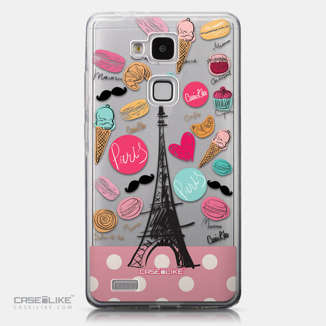 CASEiLIKE Huawei Ascend Mate 7 back cover Paris Holiday 3904