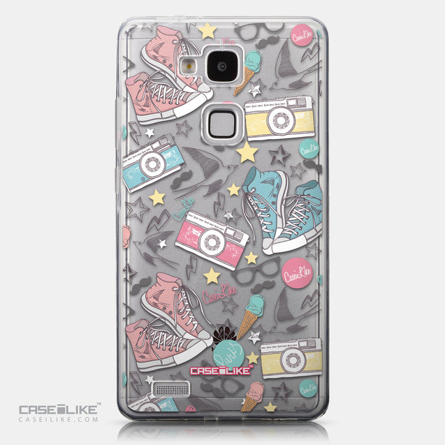 CASEiLIKE Huawei Ascend Mate 7 back cover Paris Holiday 3906