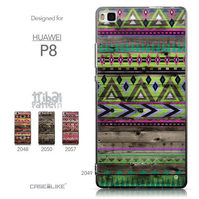 Collection - CASEiLIKE Huawei P8 back cover Indian Tribal Theme Pattern 2049