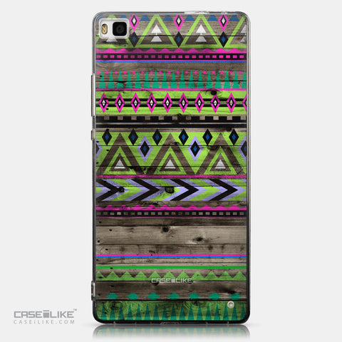 CASEiLIKE Huawei P8 back cover Indian Tribal Theme Pattern 2049