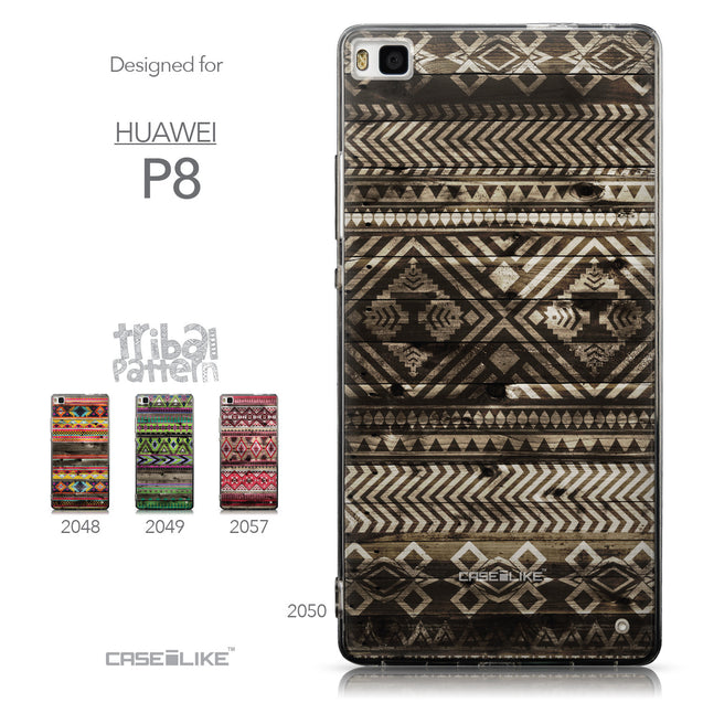 Collection - CASEiLIKE Huawei P8 back cover Indian Tribal Theme Pattern 2050