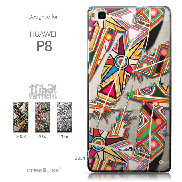 Collection - CASEiLIKE Huawei P8 back cover Indian Tribal Theme Pattern 2054