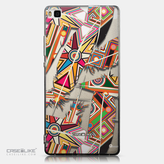 CASEiLIKE Huawei P8 back cover Indian Tribal Theme Pattern 2054