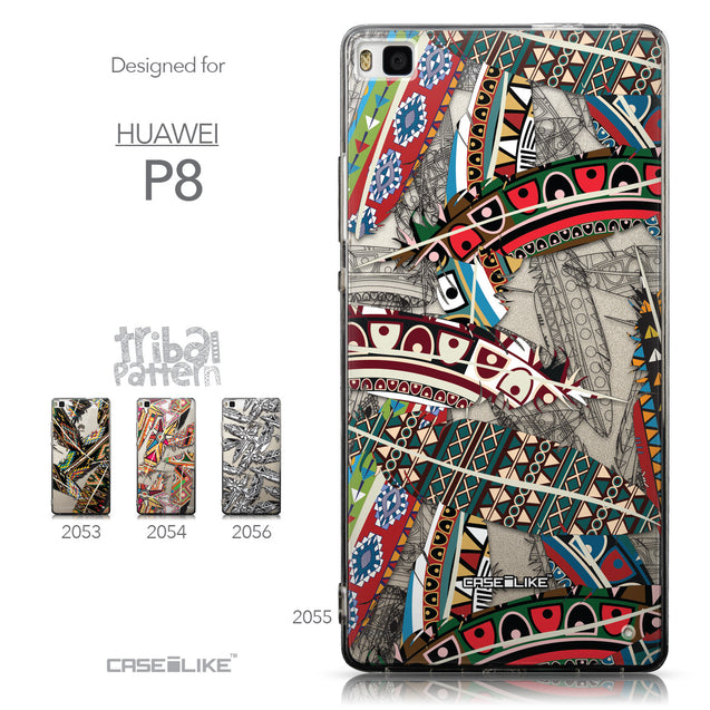 Collection - CASEiLIKE Huawei P8 back cover Indian Tribal Theme Pattern 2055