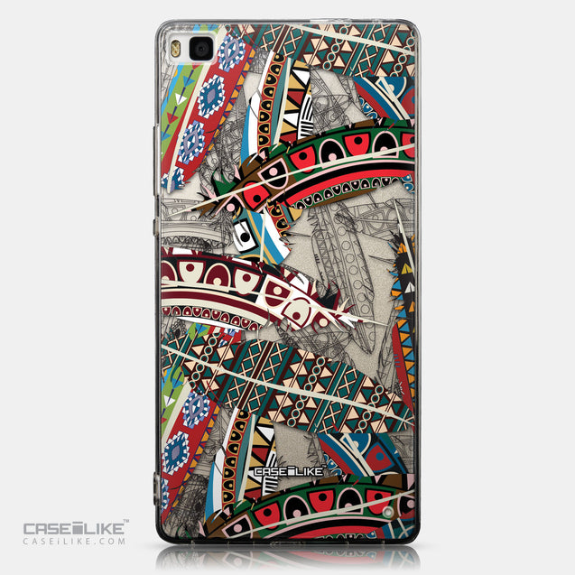 CASEiLIKE Huawei P8 back cover Indian Tribal Theme Pattern 2055