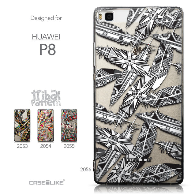 Collection - CASEiLIKE Huawei P8 back cover Indian Tribal Theme Pattern 2056