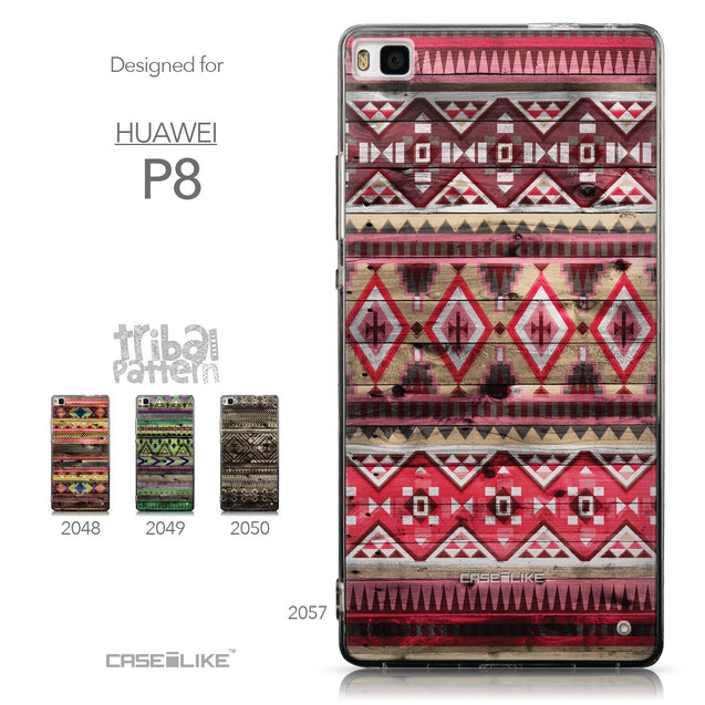 Collection - CASEiLIKE Huawei P8 back cover Indian Tribal Theme Pattern 2057