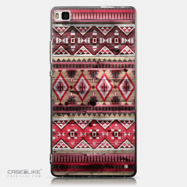 CASEiLIKE Huawei P8 back cover Indian Tribal Theme Pattern 2057