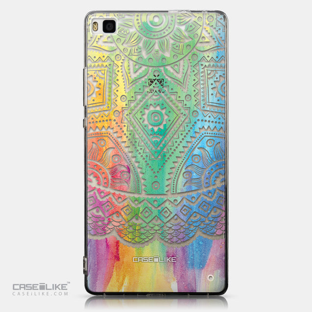 CASEiLIKE Huawei P8 back cover Indian Line Art 2064
